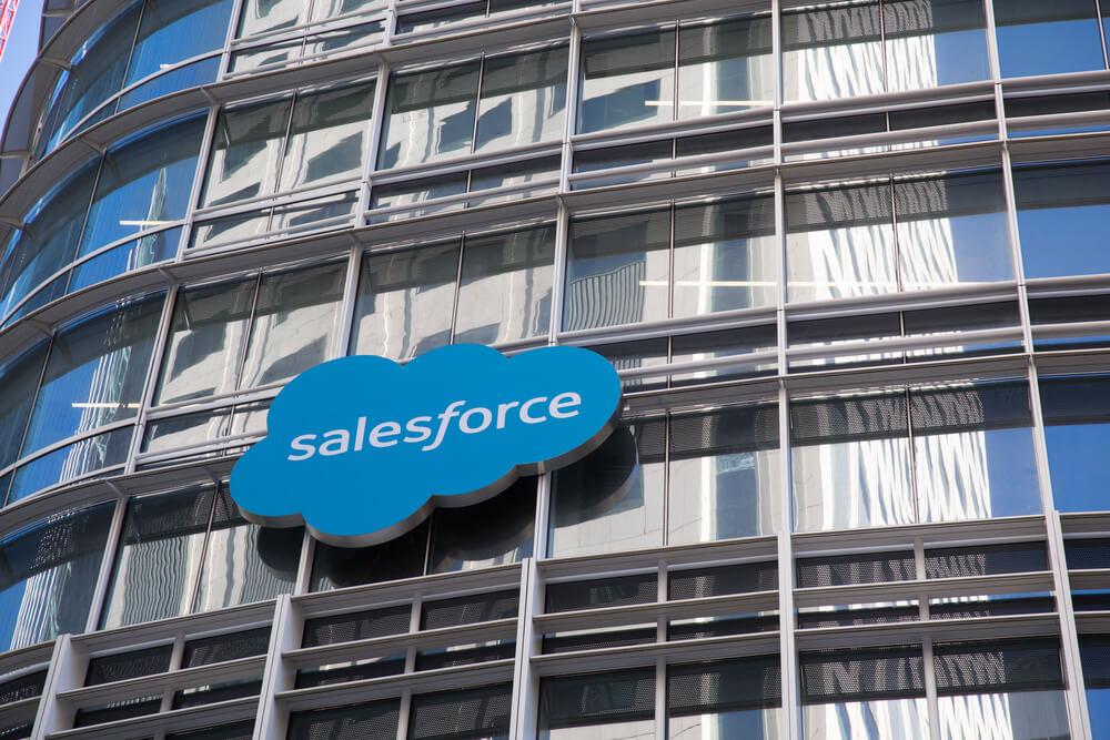 Salesforce es un ejemplo de una huella de mercado B2B