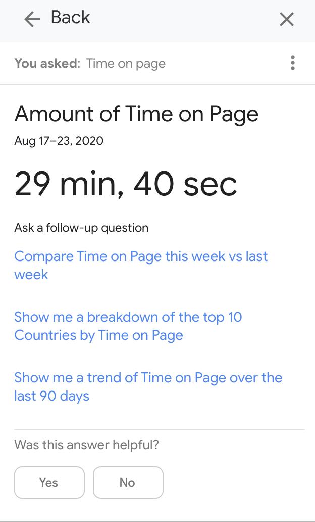 tiempo en la página versus tiempo en SEO