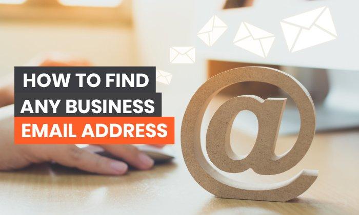 encontrar una dirección de correo electrónico