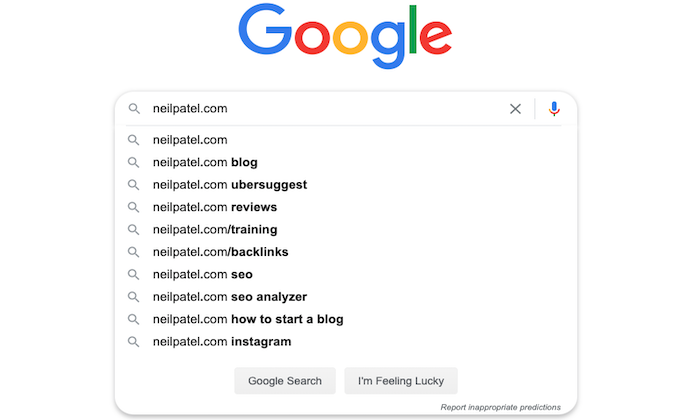 google autosuggest seo