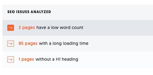 Analizar problemas de SEO para encontrar contenido desactualizado