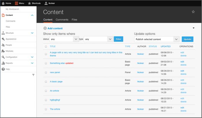 crear un sitio web drupal