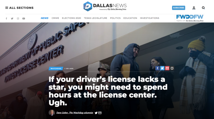 dallas news storytelling example