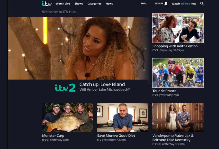 ITV storytelling example