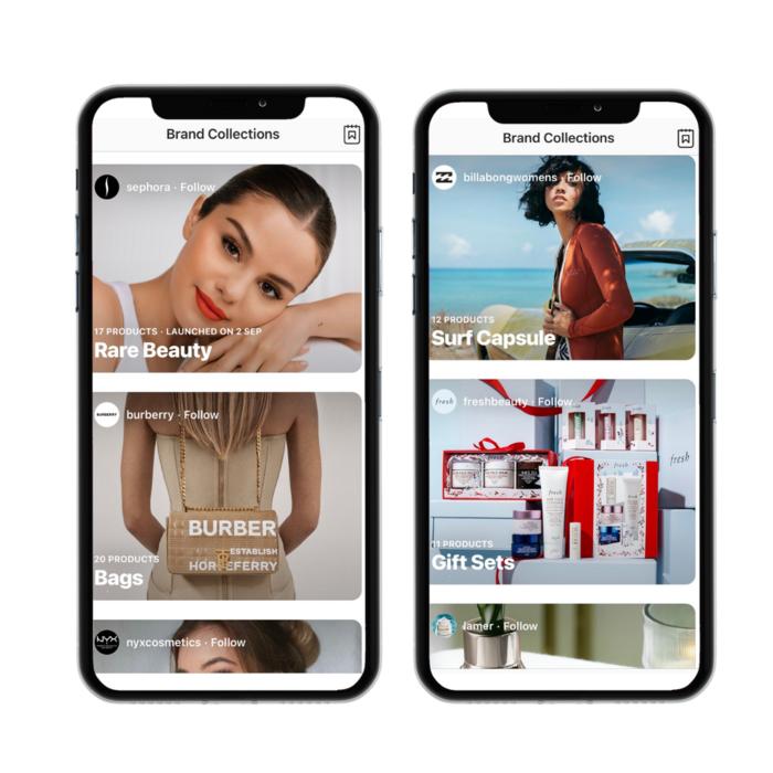 tienda de instagram de comercio electrónico en vivo