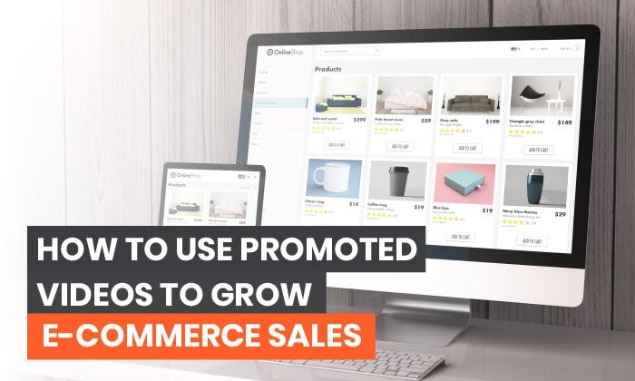 Cómo usar videos patrocinados para obtener más ventas en línea