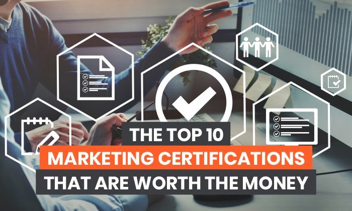 Las 10 mejores certificaciones de marketing que valen su dinero