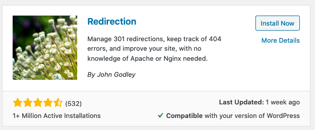 corregir errores 404 con redirección