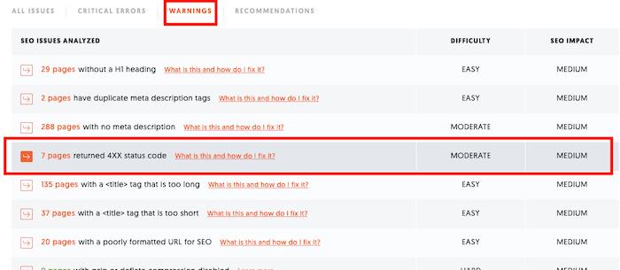 Se corrigieron errores 404 en el sitio de aduit.