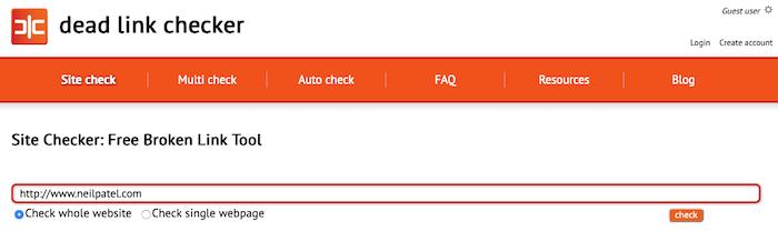 corregir errores 404 del verificador de enlaces muertos
