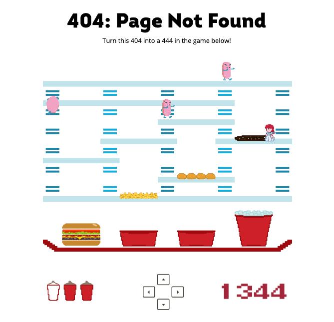 corregir errores 404 de Wendys