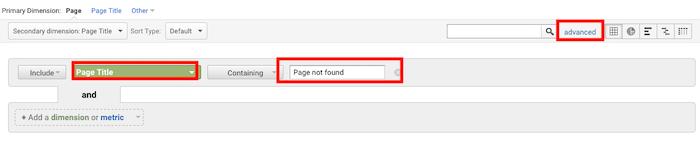 Solucionar errores 404 de la consola de búsqueda