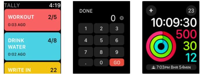 Las aplicaciones de Apple Watch cuentan