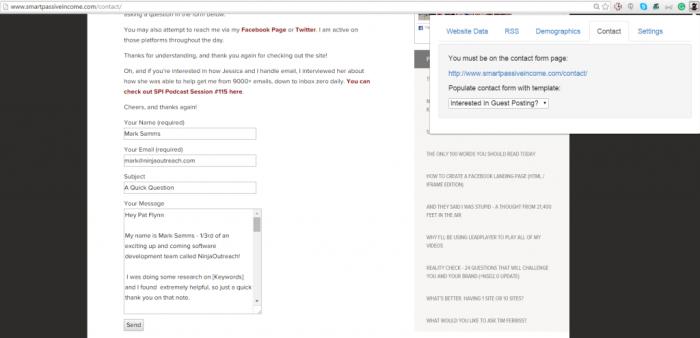 extensiones de google chrome autocompletar información de contacto