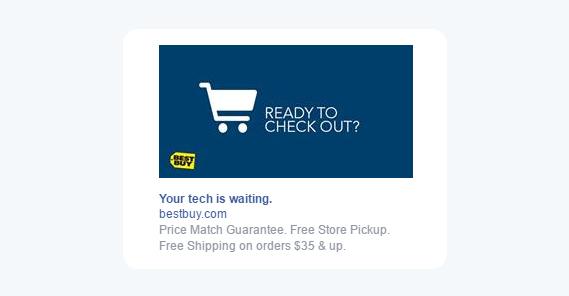 ejemplo de marketing conductual de Best Buy