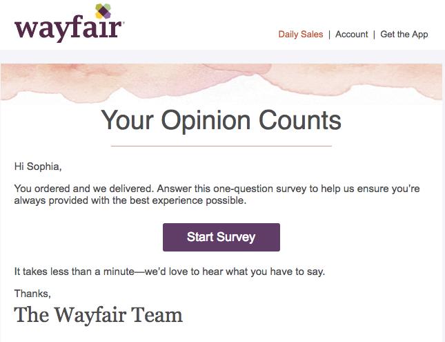 Cómo escribir un correo electrónico para los clientes de Wayfair