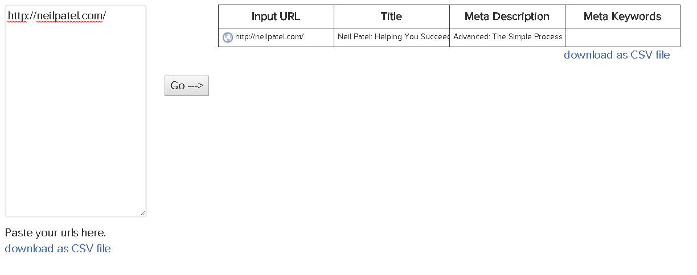 """Herramienta de extracción de metaetiquetas """"width ="""" 612 """"height ="""" 242"""