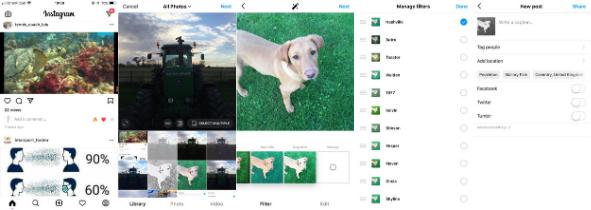 Guía para agregar filtros de Instagram para publicaciones