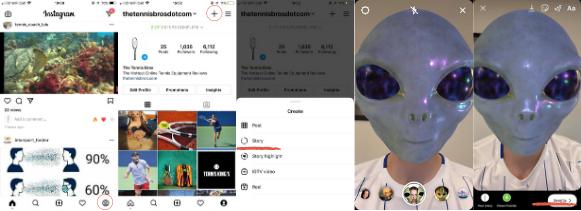 Filtros de Instagram para caras