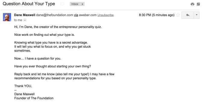 pregunta-sobre-su-tipo-de-correo electrónico