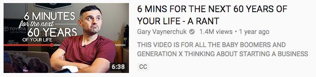 1 gary vee YouTube 2 vlog exitoso