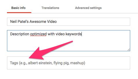 cómo crear un vlog exitoso con descripciones de Youtube