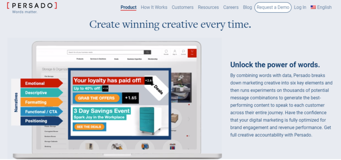 cómo escribir el texto del anuncio ppc usando la herramienta persado