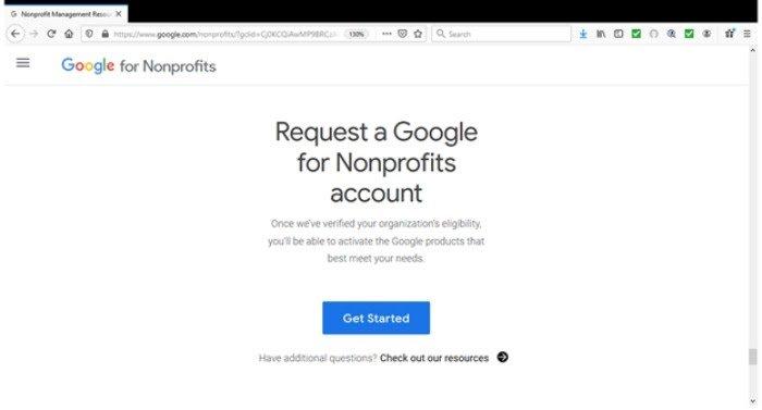 Los anuncios de Google otorgan una cuenta de Google para asociaciones
