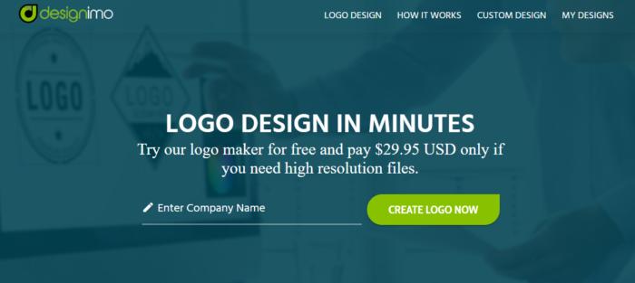 diseño Creador de logotipos de marca IMO gratuito