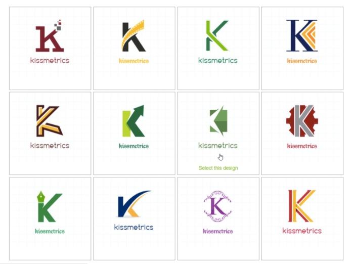 ejemplo de logotipo de marca sin letra