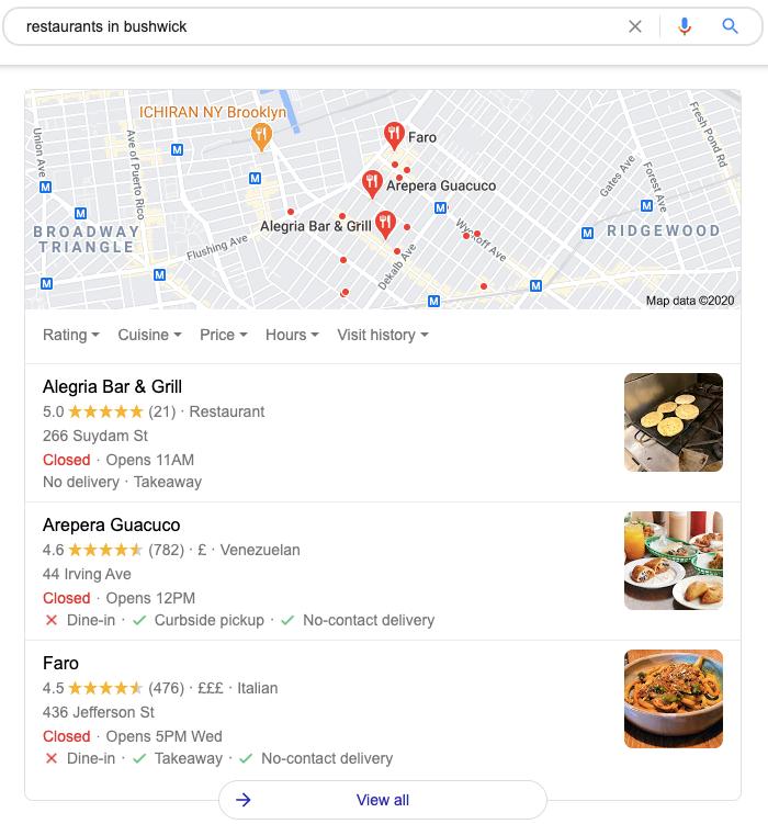 desarrollar un negocio local google my business