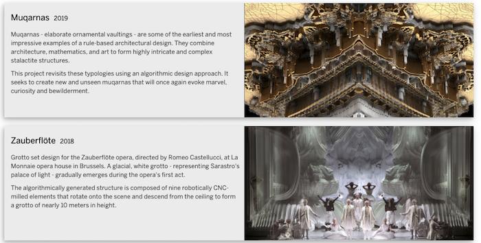 ejemplos de Hansmeyer del sitio web | medios generativos
