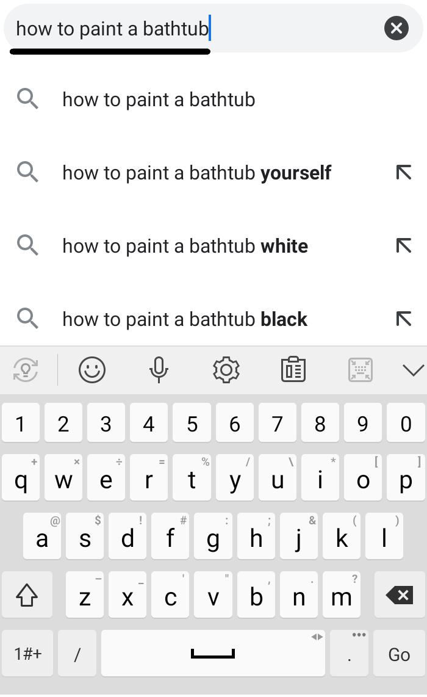 Búsqueda de video Captura de pantalla de los resultados de búsqueda de Google para una frase clave.