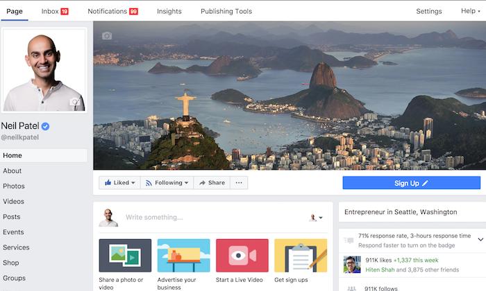 Cómo crear las mejores fotos de portada de Facebook para su negocio
