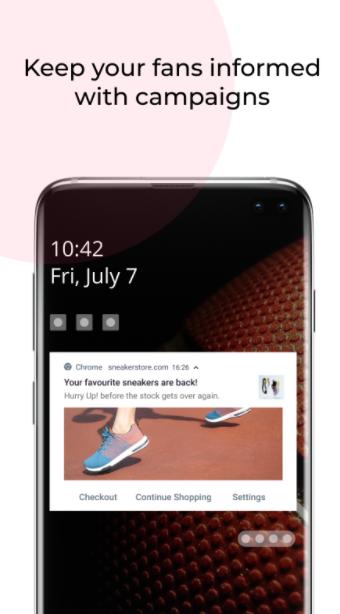 Aplicaciones de Shopify PushOwl