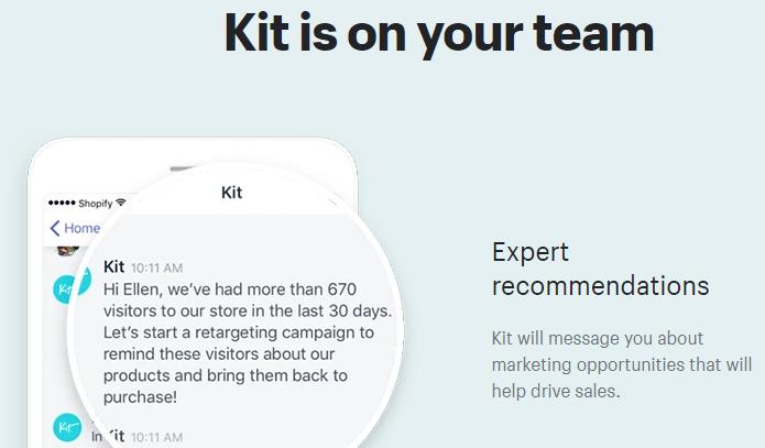 Kit de aplicación de Shopify