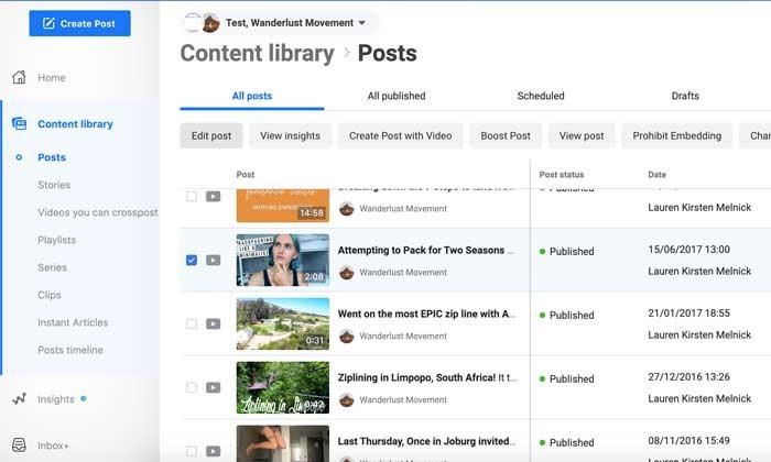 Encuestas de Facebook edita tu publicación para agregar una encuesta de video