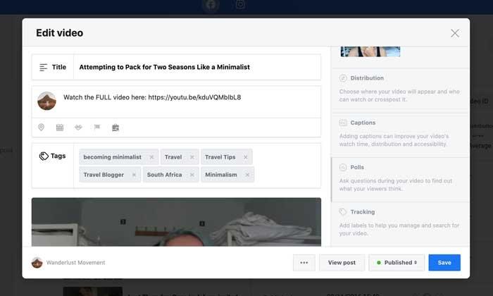 Encuestas de Facebook Cómo agregar una encuesta de video