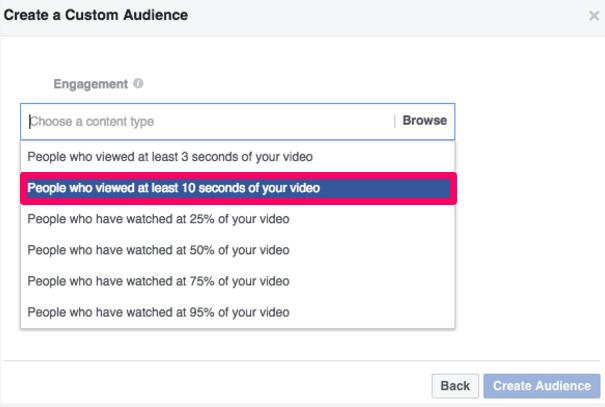 Los anuncios de Facebook crean una audiencia personalizada