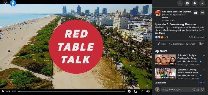 Vea las discusiones de la Mesa Roja en Facebook