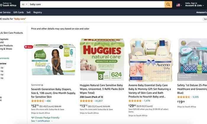 marcas avanzadas patrocinadas por Amazon