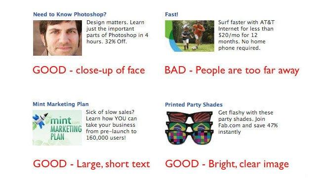 anuncios de Facebook ejemplos de anuncios en profundidad con imágenes