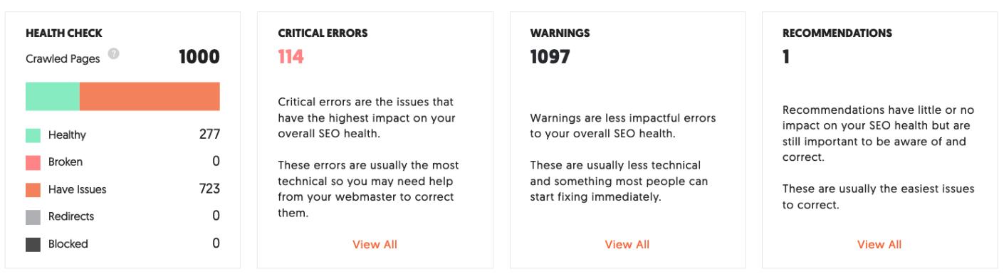 """examinez le résultat d'ubersuggest pour rechercher les erreurs de sitemap XML """"class ="""" wp-image-93630 """"width ="""" 705 """"height ="""" 193"""