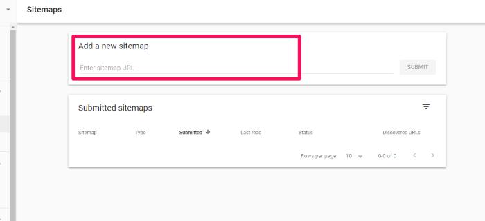 """enviar un mapa del sitio a google """"class ="""" wp-image-100377 """"srcset ="""" https://improvvisa.es/wp-content/uploads/2020/12/1608043893_462_Como-crear-un-mapa-de-sitio-XML-optimizado-para-SEO.png 700w, https : / /neilpatel.com/wp-content/uploads/2020/12/submit-sitemap-to-google-350x160.png 350w """"tamaños ="""" (ancho máximo: 700px) 100vw, 700px"""