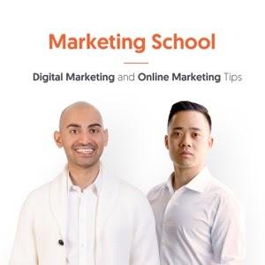 Cómo comenzar una portada de podcast de una escuela de marketing de podcasts