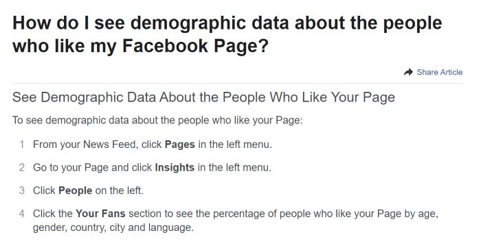 Captura de pantalla de la página de Facebook Marketing de afiliados avanzado