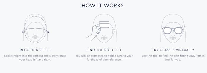 Las herramientas interactivas aumentan las ventas de gafas Pruebe la aplicación de marketing