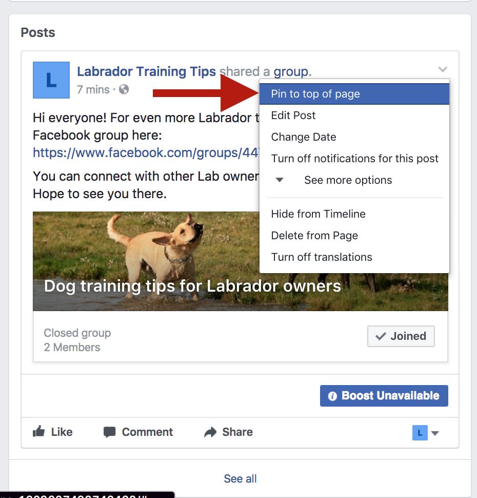 """cómo agrandar un grupo de facebook poner un mensaje """"ancho ="""" 465 """"alto ="""" 485"""
