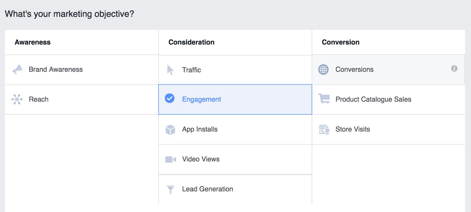 """Expanda las opciones de anuncios de grupo de Facebook """"ancho ="""" 400 """"alto ="""" 180"""