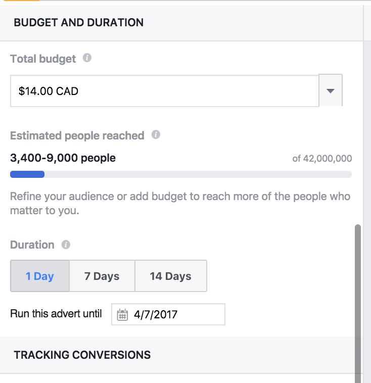 """Aumente el presupuesto publicitario de su grupo de Facebook """"width ="""" 551 """"height ="""" 569"""